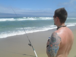 fishing for striped bass at race point beach