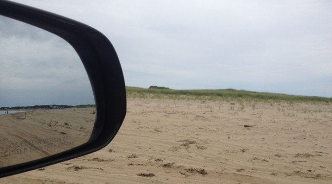 Oversand Beach Driving on Cape Cod