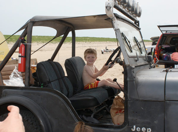 Race Point's oversand driving trails are the best place to take a Jeep on Cape Cod