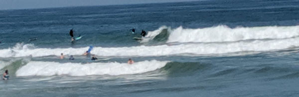 Marconi Beach has some of the best surf conditions of any National Seashore Beach. Watch out for sharks!